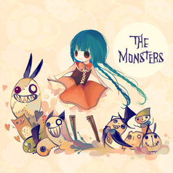 THEmonsters卡爱卡通图片